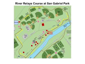 River Relays Course